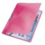 Gyorsfűző -41760025- Color Clip PIROS  RAINBOW  LEITZ