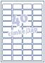 Etikett -L6140-20- 45,7x25,4mm AVERY <20lap/ob>