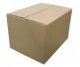 Archiváló doboz, barna 305x215x330mm