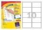 Etikett -L7173-100- 99,1x57mm FEHÉR  AVERY <100 lap/dob>