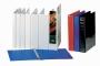 Gyűrűskönyv -49717- A4 50mm 4-gyűrűs Panorámás FEKETE ESSELTE