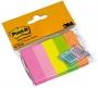 Index jelölőlap -670-5- 15x50mm 5 NEON szín 3M <50címke>