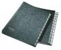 El�rendez� -58250095/58250195- karton, A4 A-Z FEKETE LEITZ