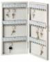 Kulcsszekrény -6750/72R- 72 akasztóval 370x450x60 BURG-WACHTER